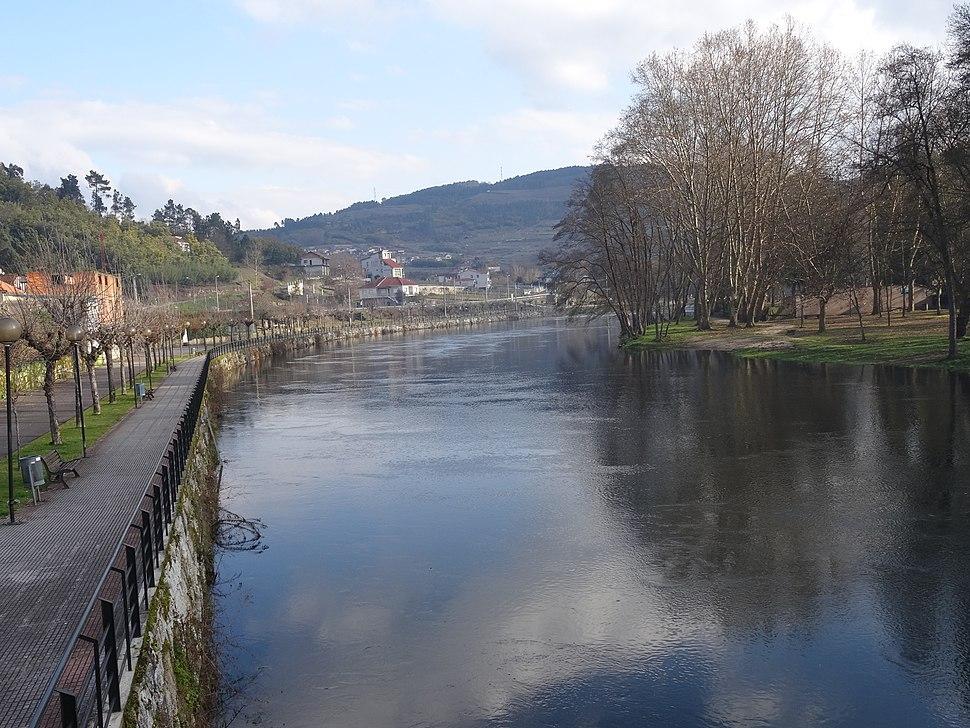 Paseo fluvial río Avia, concello Leiro, Ourense