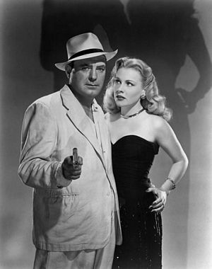 Pat O'Brien (actor) - O'Brien and Anne Jeffreys in Riffraff (1947)