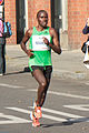 Patrick Makau Musyoki running world record at Berlin Marathon 2011.jpg