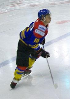 Patryk Wronka Polish ice hockey player
