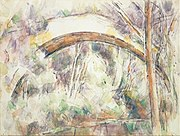 Paul Cézanne - The Bridge of Trois-Sautets - Google Art Project.jpg
