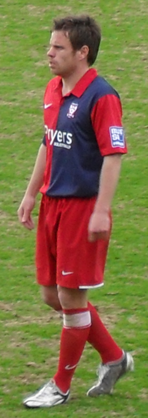 Paul Harsley - Harsley playing for York City in 2010