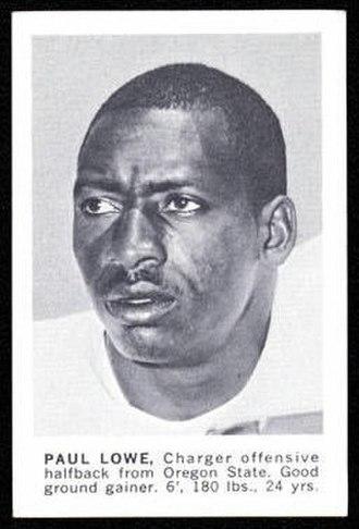 Paul Lowe - Image: Paul Lowe 1961