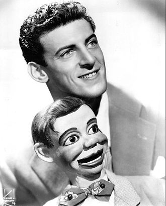 Paul Winchell - Winchell with Jerry Mahoney in 1951