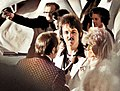 Paul and Linda McCartney at the Academy Awards at the Dorothy Chandler Pavilion April 2, 1974.jpg