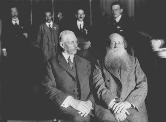 Pavel Miliukov&Peter Kropotkin