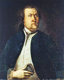 picture commonly believed to portray Pehr Kalm, although some modern