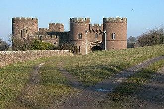 Pembridge Castle - Image: Pembridge Castle