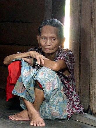 Penan people - Image: Penan woman