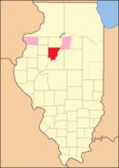 Peoria County Illinois 1830