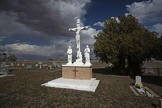 Pep, Texas - Saint Phillips Cemetery in Pep
