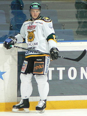 Jussi Pesonen (ice hockey) - Image: Pesonen Jussi Ilves 2009 1