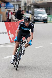 Peter Kennaugh bei der Tour de Romandie 2010