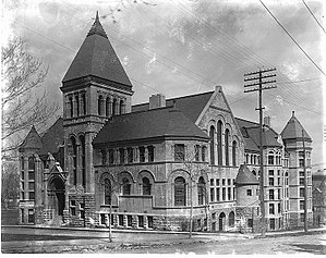 Charles Henry Gould - Redpath Library at McGill University, Montreal, 1893