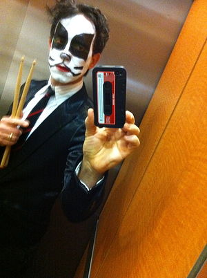 """Pedro Yanowitz - Peter """"criss"""" Yanowitz on Halloween 2011"""
