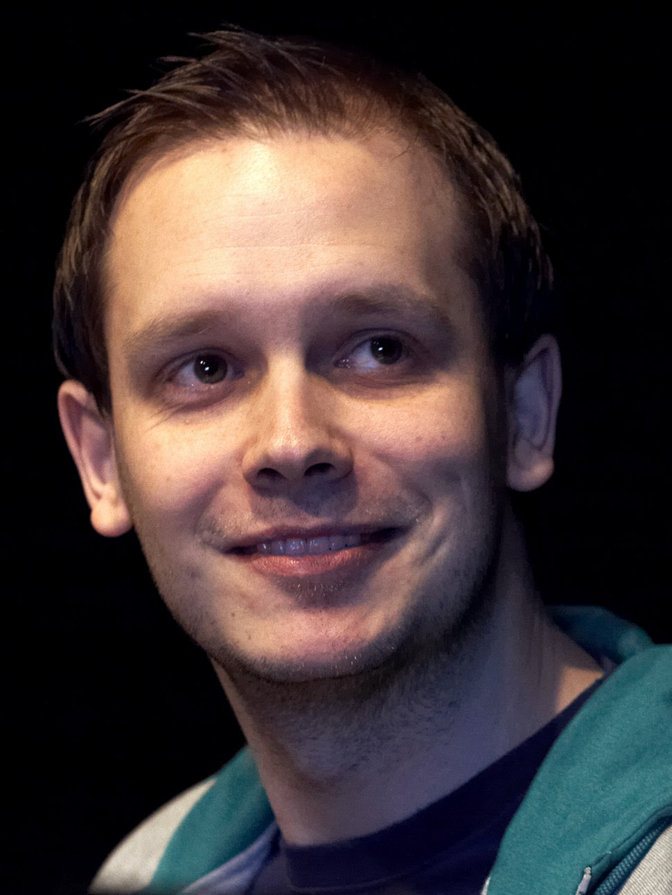 Peter sunde close up