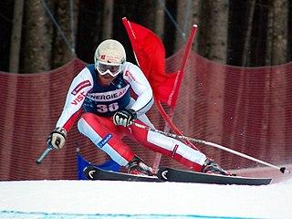 Petr Záhrobský Czech alpine skier and olympionic