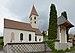 Pfarrkirche Johannes der Täufer Völser Aicha Südansicht.jpg