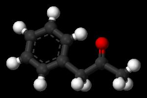 Phenylacetone - Image: Phenylacetone 3D balls