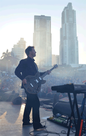 Phil Cunningham (rock musician) - Phil Cunningham in Miami (March 2012)