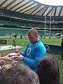 Phil Vickery 2009 08 12 2 Whitton twickenham england training.jpg