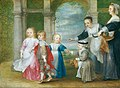 Philip Fruytiers - The four children of Rubens and Helena Fourment with maids.jpg