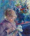 Pierre-Auguste Renoir - Jeune Femme cousant.jpg