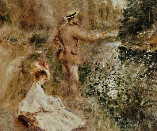 Pierre-Auguste Renoir - Le Pêcheur à la ligne