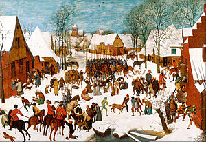 Massacre of the Innocents (Bruegel) - Version in the Royal Collection
