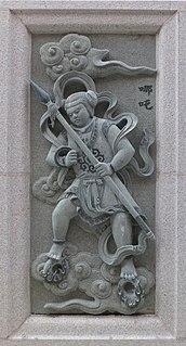 Nezha Protection deity in Chinese folk religion