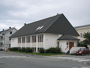 Pentecostalism in Norway - The church Filadelfia in Bodø.
