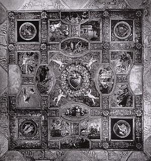 Palazzo del Magnifico - Soffitto del Salone del palazzo del Magnifico, Metropolitan Museum