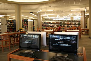 Candler School of Theology - Pitts Theology Library - Main Floor