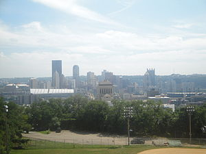Fineview (Pittsburgh) - Image: Pittsburgh Skyline 1