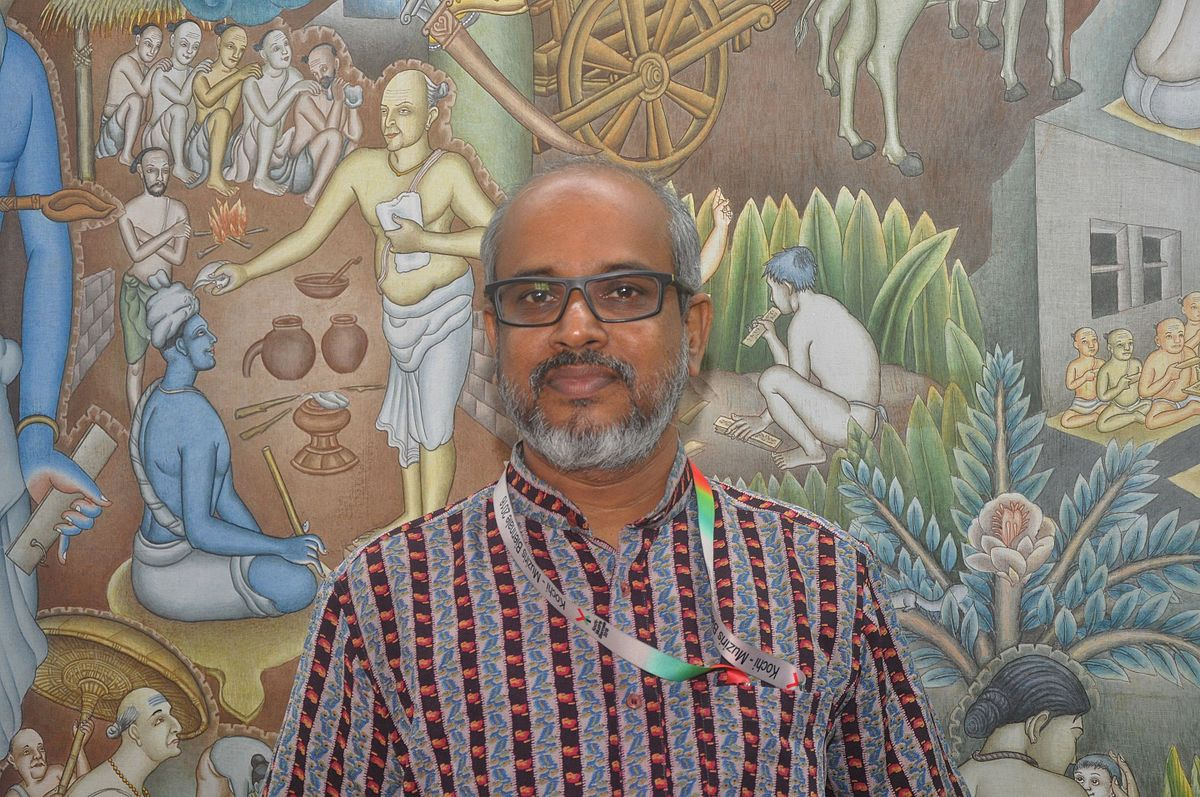 P k sadanandan wikipedia for Asha mural painting