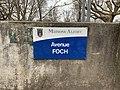 Plaque Avenue Foch - Maisons-Alfort (FR94) - 2021-03-22 - 2.jpg