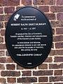 Plaque in memory of Herbert Ralph (Bert) Dunkley.jpg