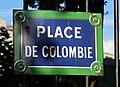 Plaque place de Colombie, Paris 16e.jpg