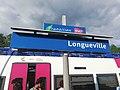 Plaque signalétique de la gare de Longueville.jpg