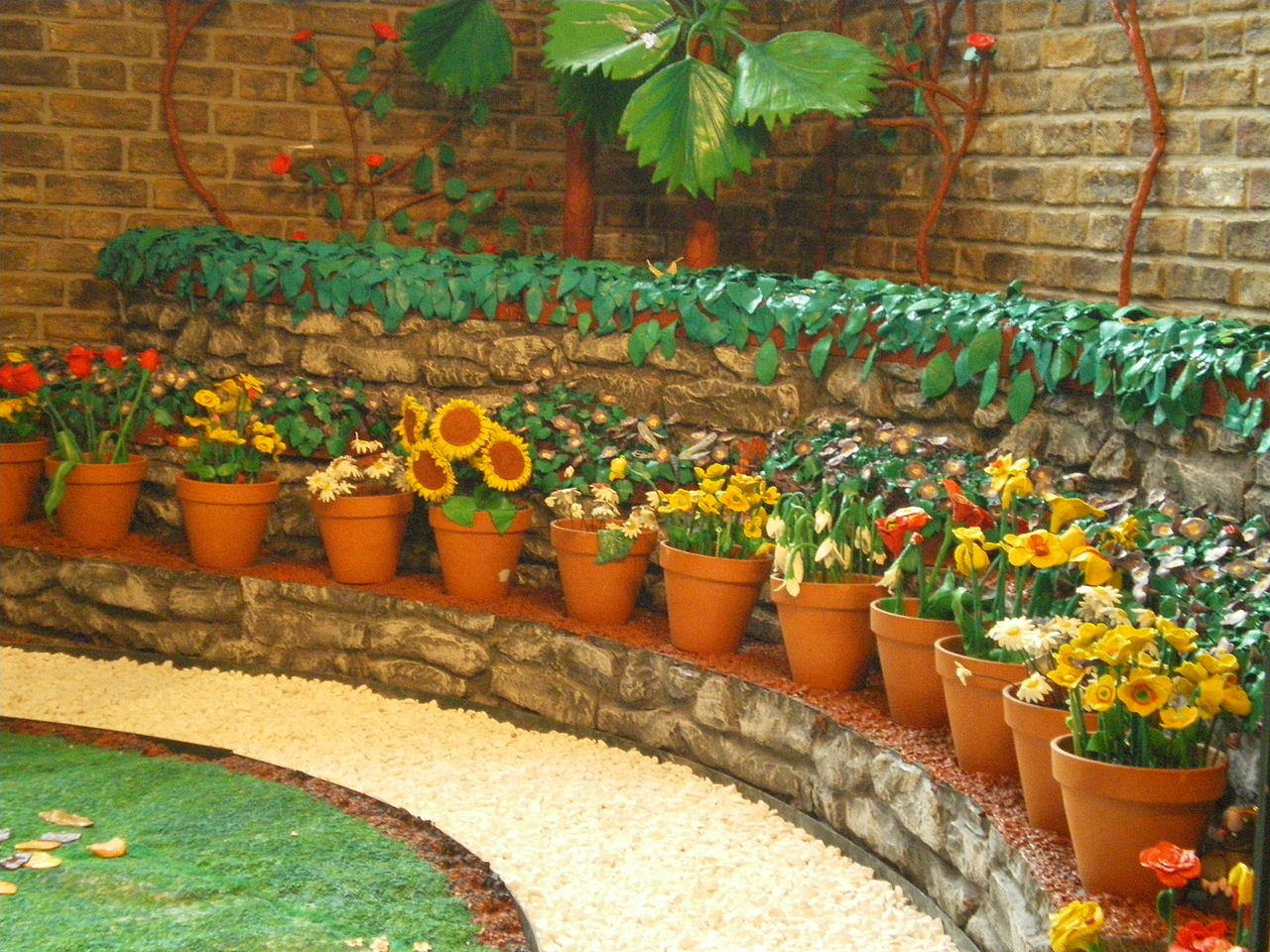 FilePlasticine garden potsjpg Wikimedia Commons