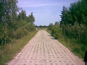 Plokštinė missile base - The road to the base