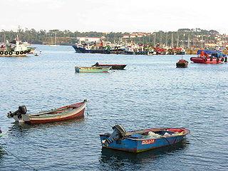 A Pobra do Caramiñal municipality in Galician province A Coruña, Spain