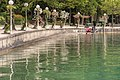 Poertschach Blumenstrand mit Laternen vor dem Parkhotel 20062016 3387.jpg