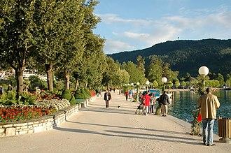 Pörtschach am Wörthersee - Lakeside promenade