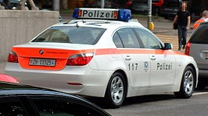 Municipal police (Switzerland) - Image: Polzh 4