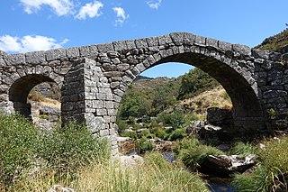 Ponte da Cava da Velha Bridge in Portugal