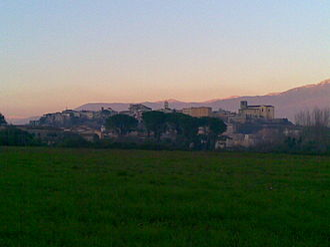 Pontecorvo - Image: Pontecorvo View