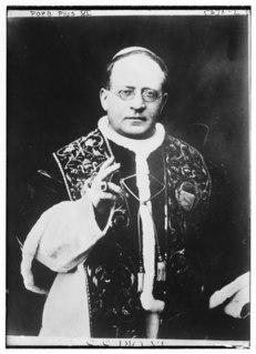 Pope Pius XI 20th-century Catholic pope