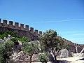 Pormenor da Muralha do Castelo de Óbidos.jpg