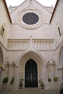 Co-Cathedral of the Most Holy Name of Jesus Church in Old City of Jerusalem
